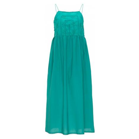 IZIA Letné šaty  tyrkysová