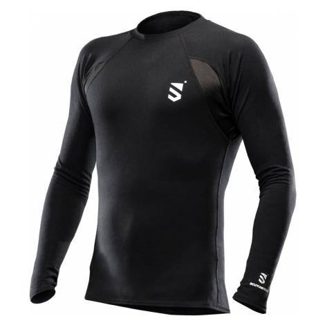 Funkčné tričko Scutum Wear® Alex dlhý rukáv - čierne