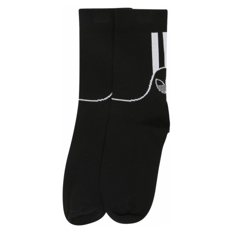 ADIDAS ORIGINALS Ponožky  čierna / biela