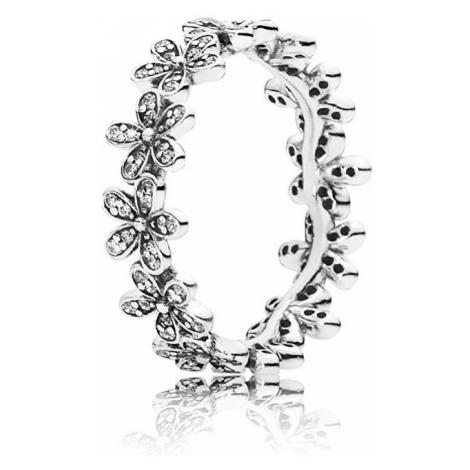 Pandora Trblietavý Sedmokráskový prsteň 190934CZ mm