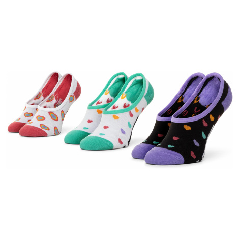 Súprava 3 párov krátkych ponožiek detských VANS