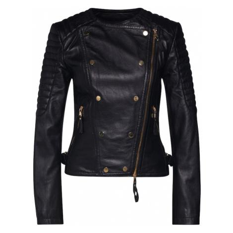 BE EDGY Prechodná bunda  čierna