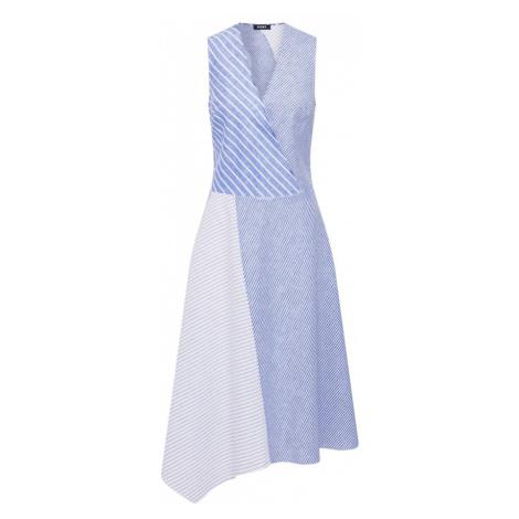 DKNY Šaty  biela / modré