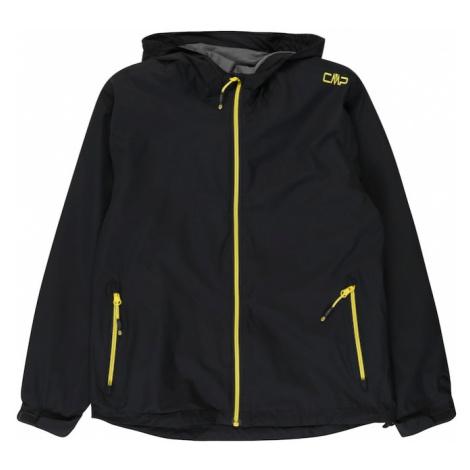 CMP Outdoorová bunda  žltá / kobaltovomodrá