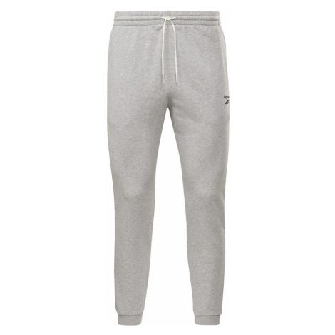 REEBOK Športové nohavice  sivá