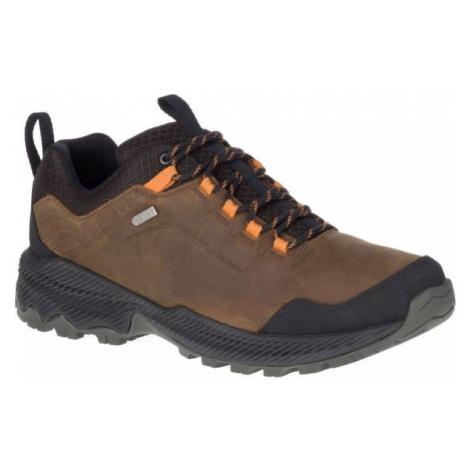 Merrell FORESTBOUND WP hnedá - Pánska outdoorová obuv