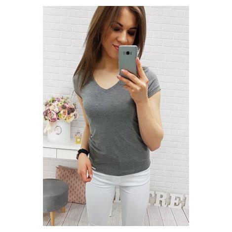 BASIC ANTHRACITE women's T-shirt RY0318 DStreet