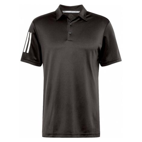 adidas Golf Funkčné tričko  biela / čierna