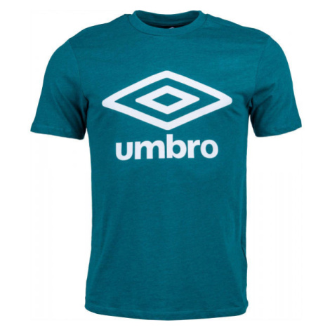 Umbro FW LARGE LOGO COTTON TEE zelená - Pánske tričko