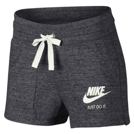 Nike GYM VNTG W tmavo sivá - Dámske šortky