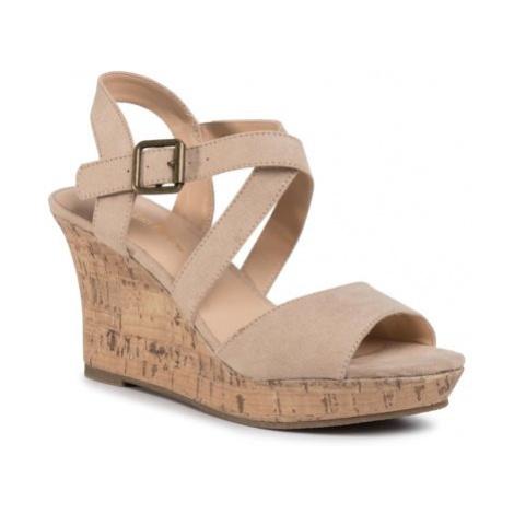 Sandále Clara Barson WYL2048-2 Materiał tekstylny