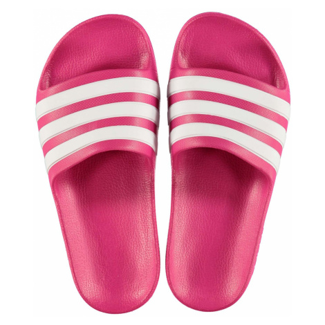 Adidas Duramo Sliders Junior Girls Pink/White
