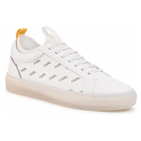 Sneakersy KARL LAGERFELD - KL51023 White Lthr.
