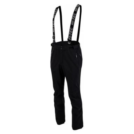 Hi-Tec LORAN čierna - Pánske softshellové nohavice