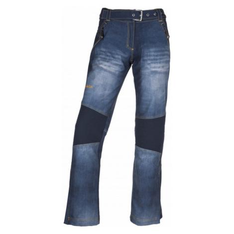 Women's softshell pants Jeanso-w blue - Kilpi