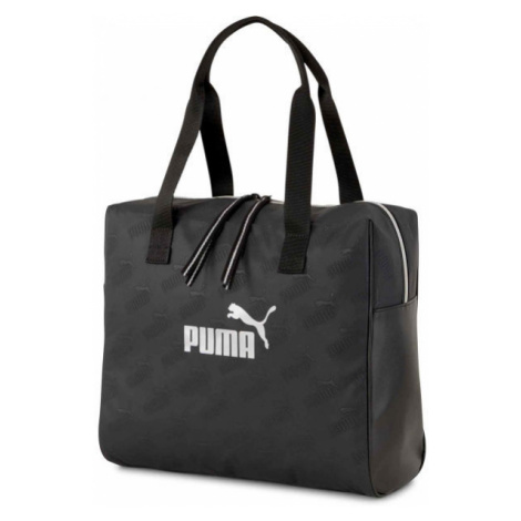 Puma CORE UP LARGE SHOPPER čierna - Dámska taška