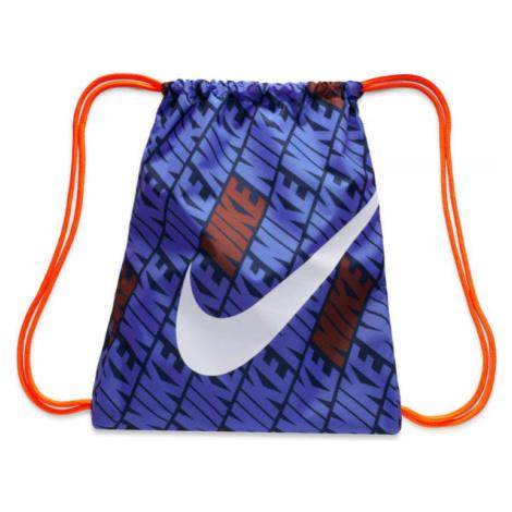 Nike KIDS PRINTED GYM SACK tmavo modrá - Detský gymsack