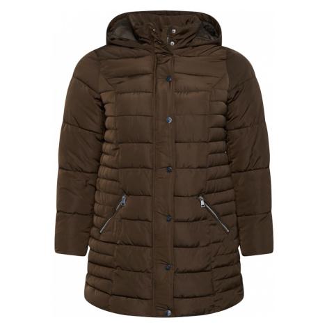 Dorothy Perkins Curve Zimný kabát  kaki