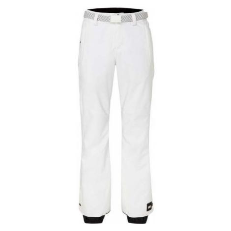 O'Neill PW STAR SLIM PANTS biela - Dámske snowboardové/lyžiarske nohavice