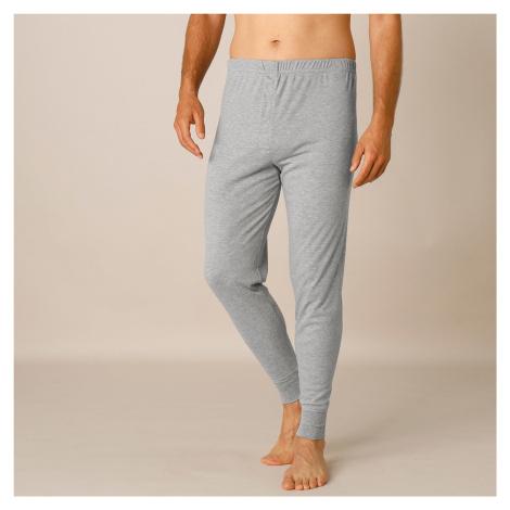 Blancheporte Spodné nohavice Thermoperle, súprava2 ks sivý melír