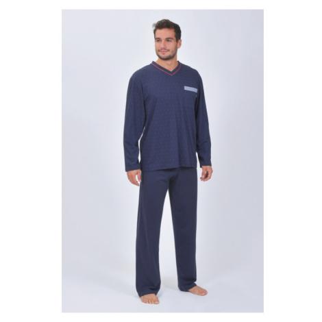 Pánske pyžamo Pleas 164596 - barva:PLE804/nočná modrá