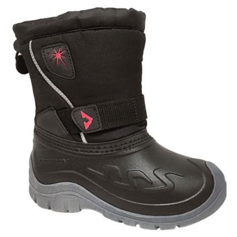 Crossroad CLOUD sivá - Detská zimná obuv