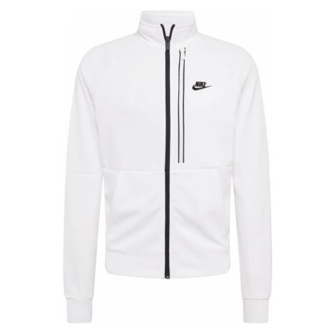 Nike Sportswear Tepláková bunda 'Tribute'  čierna / biela