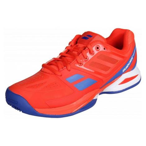 Propulse Team Clay 2016 tenisová obuv barva: červená;velikost (obuv / ponožky): UK 4 Babolat