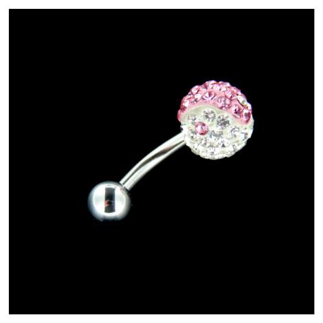 Strieborný piercing 15150