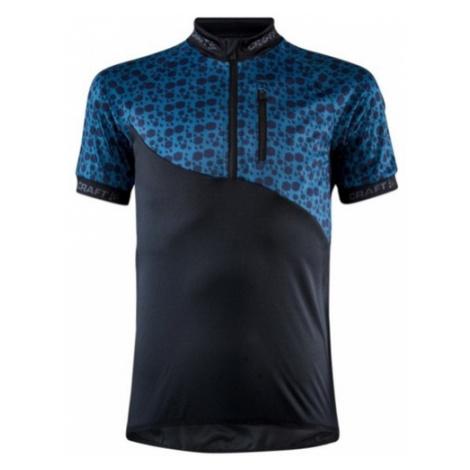 Cyklodres CRAFT Bike JR 1909338-999676 - čierna s modrou