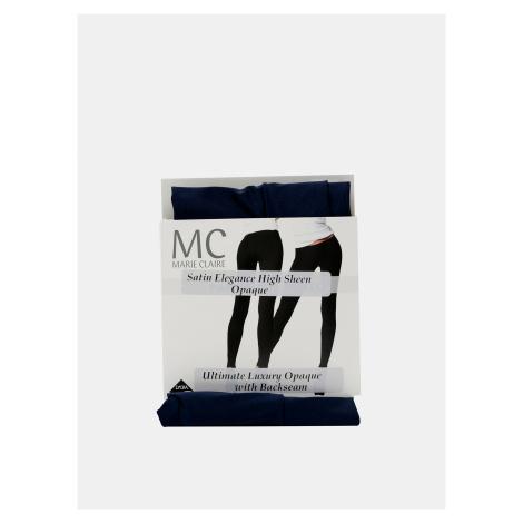 Tmavomodré pančuchové nohavice Marie Claire