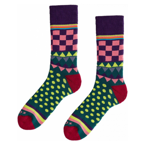 Soccus Geometricum Narcissus socks Woox