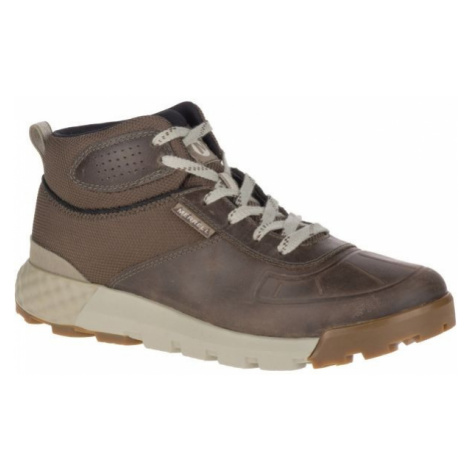 Merrell CONVOY MID POLAR WP AC+ hnedá - Pánske zimné topánky
