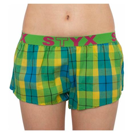 Women's shorts Styx sports rubber multicolored (T813)