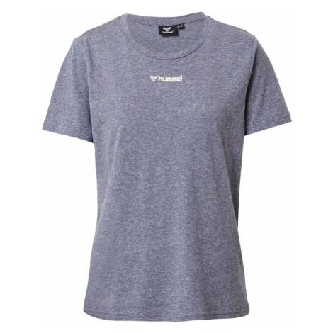 Hummel Funkčné tričko  modrosivá