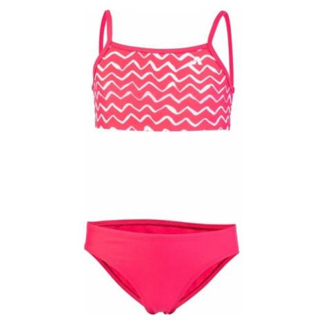 Aress BIBA ružová - Dievčenské dvojdielne plavky
