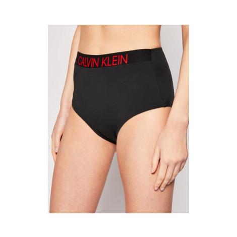 Calvin Klein Swimwear Spodný diel bikín KW0KW00941 Čierna