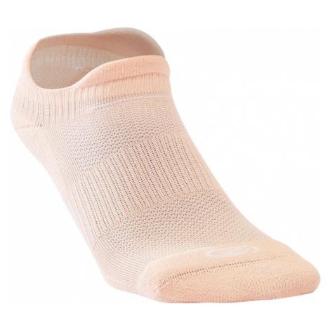 KIPRUN Bežecké ponožky RUN500 neviditeľné 2 páry ružové RUŽOVÁ 39/42