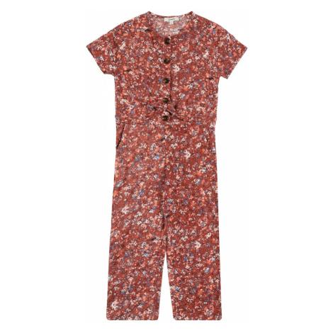 GARCIA Overal  hnedá / svetlooranžová / biela / hrdzavo červená Garcia Jeans