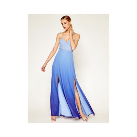 Marciano Guess Večerné šaty Tidal Wave Gown 0GG734 7068Z Modrá Regular Fit