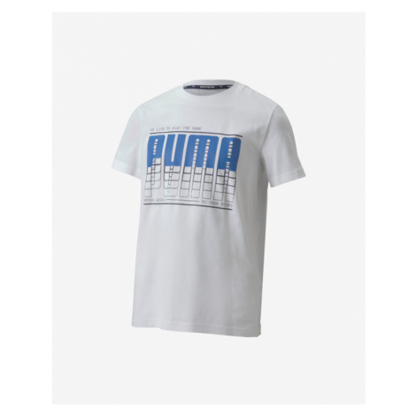 Puma Active Sports Tričko detské Biela