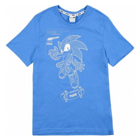 PUMA Funkčné tričko 'Sega'  modrá