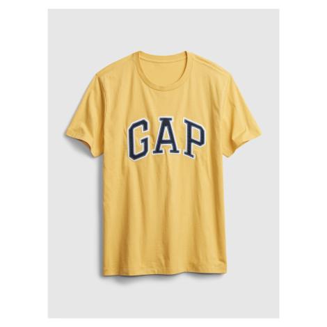 GAP žlté pánske tričko s logom