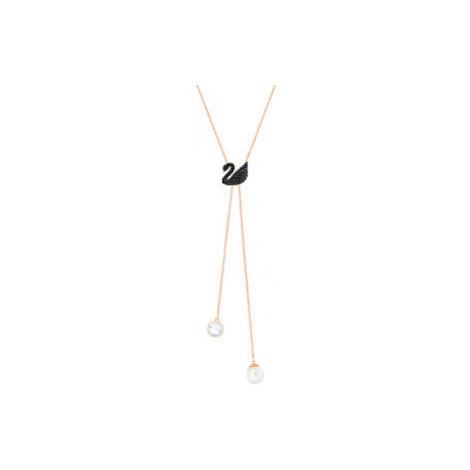 Swarovski Luxusné náhrdelník Iconic Swan