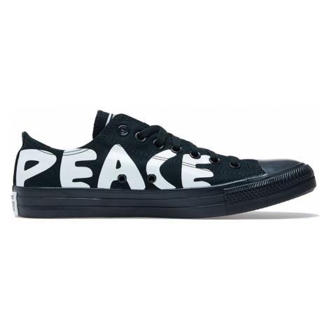 Converse Chuck Taylor All Star Peace Powered Lo Black-10.5 čierne 167893C-10.5