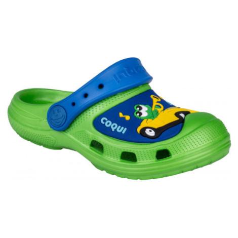 Coqui CROAKY zelená - Detské sandále