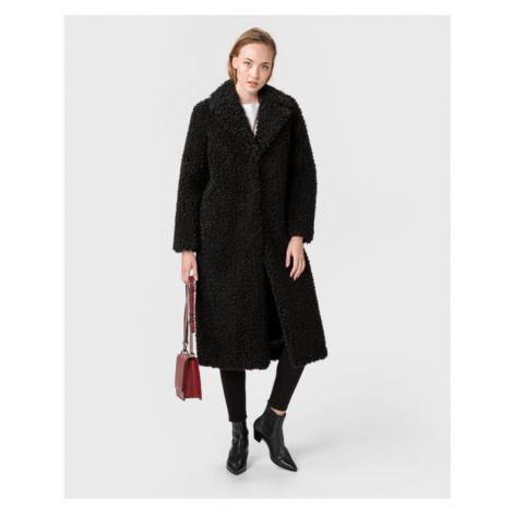 TWINSET Kabát Čierna