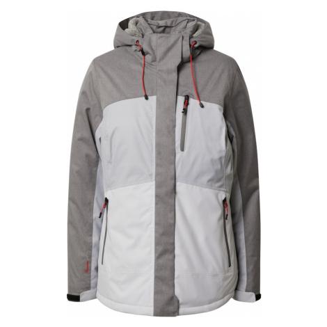 KILLTEC Outdoorová bunda 'Ostfold'  svetlosivá / sivá