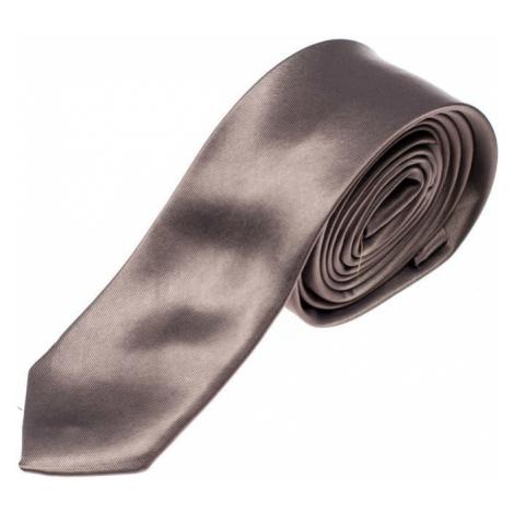 Grafitová pánska elegantná kravata BOLF K001