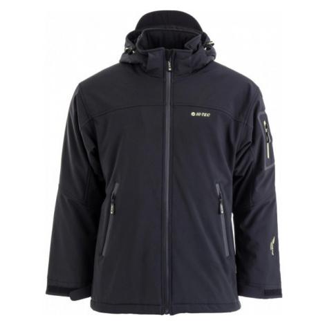 Hi-Tec GINNY čierna - Zimná softhellová bunda